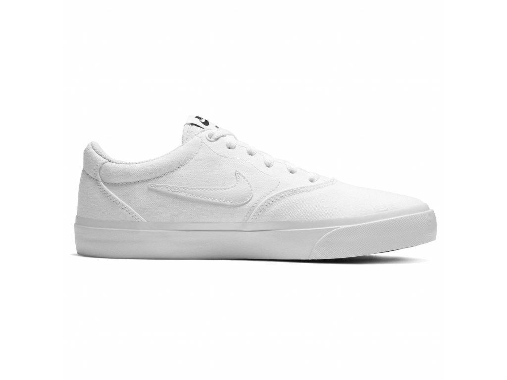 Dámské boty Nike SB Charge Canvas Bílé