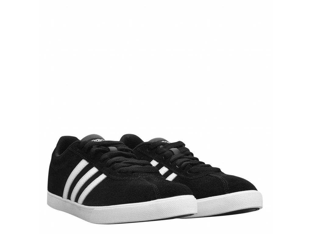 Dámské boty adidas Courtset Suede Černé