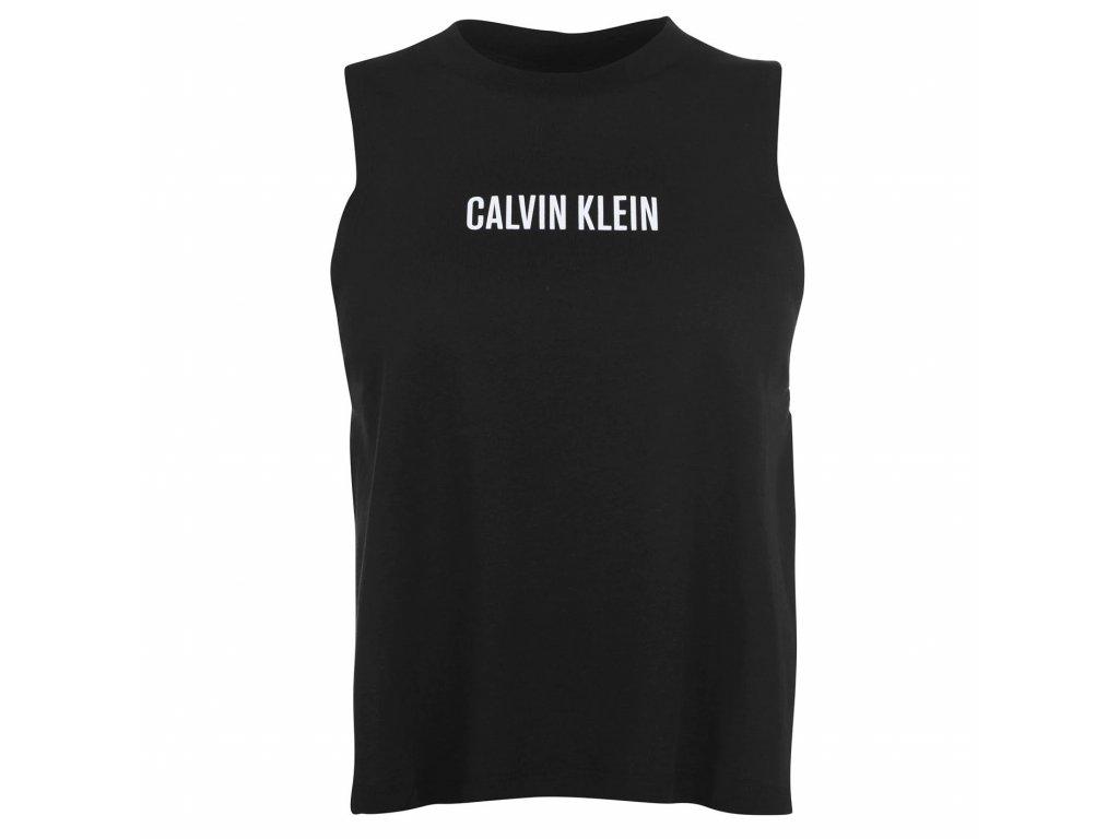 Dámské tílko Calvin Klein Intense Power Černé