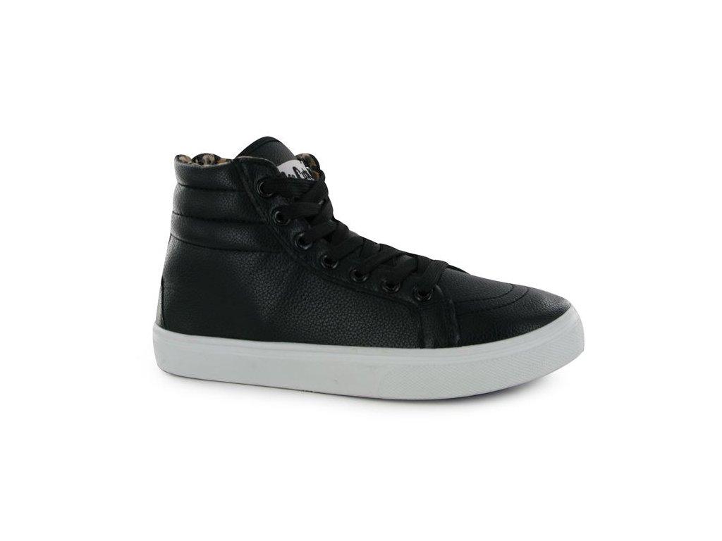 Dámské kotníkové boty Lee Cooper Zipper Černé