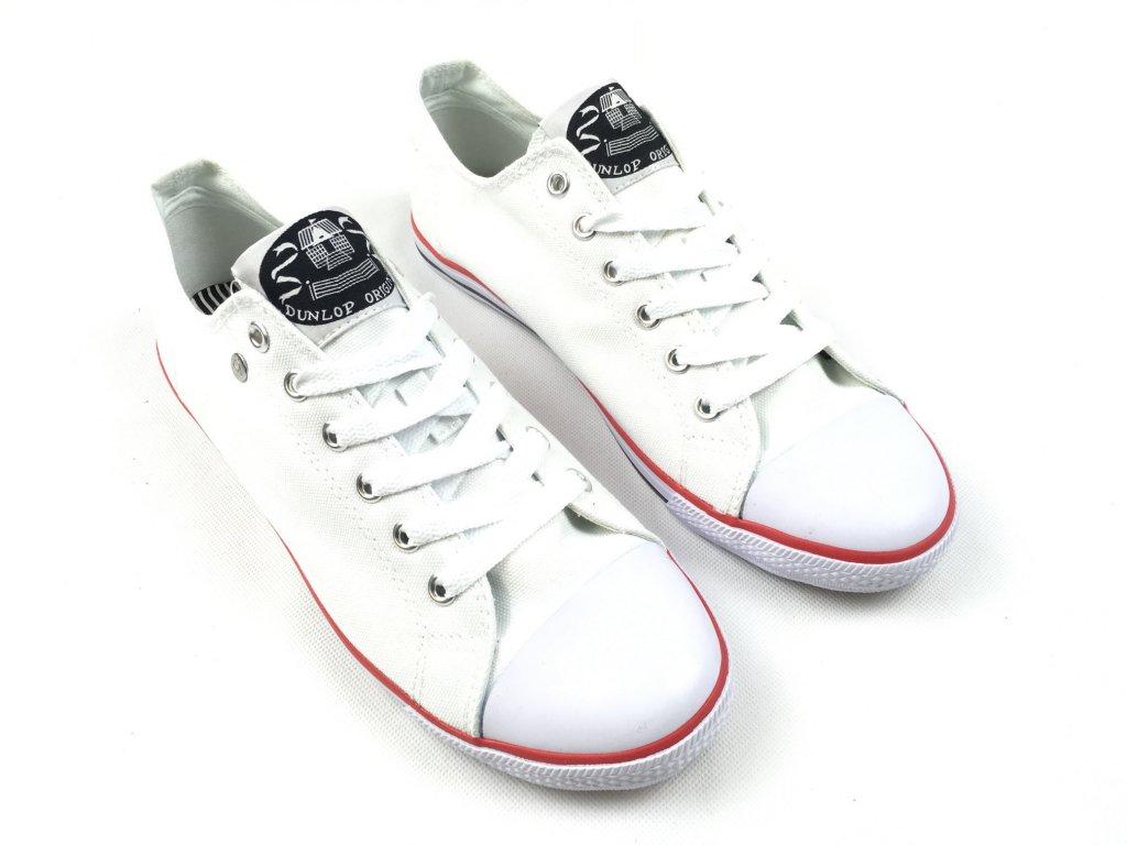 Pánské boty Dunlop Can Bílé