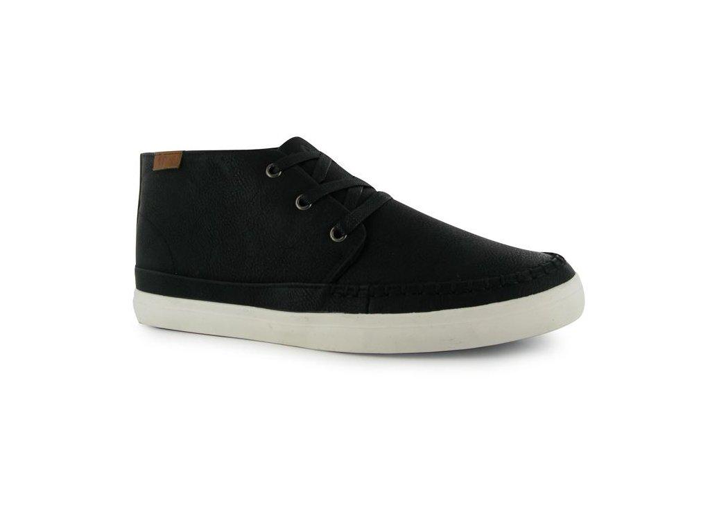 Pánské boty Lee Cooper z PU kůže Černé