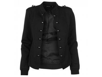 Dámská bunda Mystify Button Černá