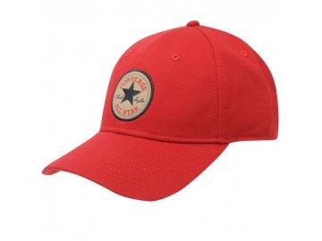 Čepice kšiltovka Converse Off Červená