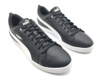 Pánské kožené boty Puma Smash Černé