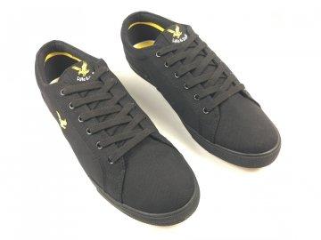Pánské boty Lyle And Scott Vintage Černo Černé