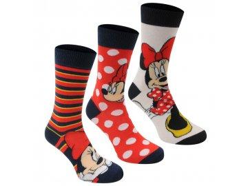 Dámské ponožky Disney Minnie
