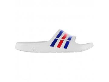 3be5457d0eb Pánské pantofle adidas Duramo Bílé