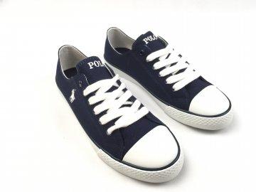 Dámské boty Ralph Lauren Canvas Navy