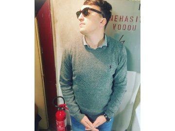 Pánský svetr Ralph Lauren Šedý
