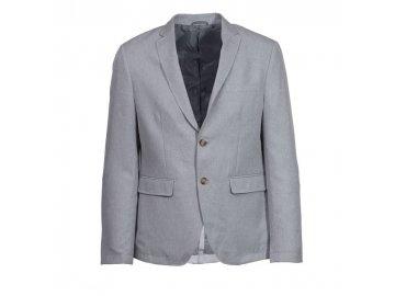Pánský Blazer Giorgio Světle šedý