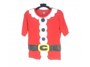 Pánské vánoční pyžamo Fluid triko a kraťasy