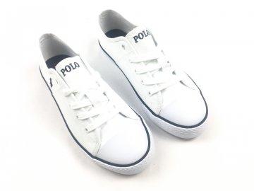 Dámské boty Ralph Lauren Dyland Bílé