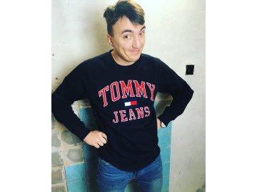 Pánská mikina Tommy Hilfiger Jeans Černá