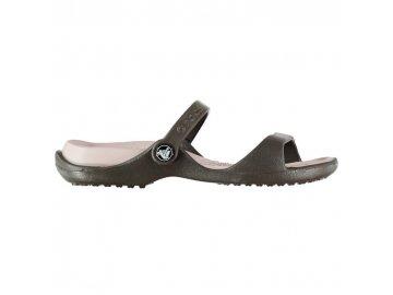 Dámské boty Crocs Cleo Hnědé