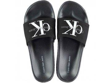Dámské pantofle Calvin Klein Chantal Černé