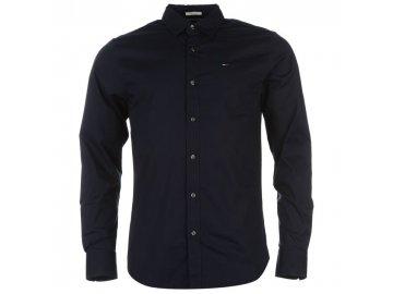 Pánská košile Tommy Hilfiger Stretch Navy