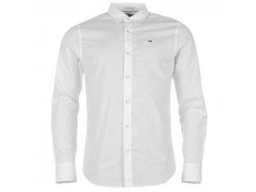 Pánská košile Tommy Hilfiger Stretch Bílá