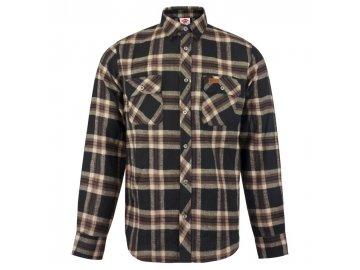 Pánská košile Lee Cooper Check s dlouhým rukávem Greyer