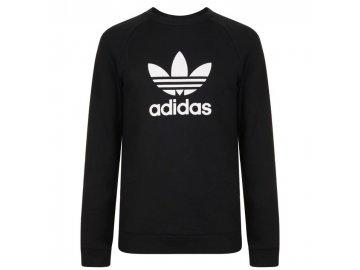 Mikina adidas Originals Trefoil Sweatshirt Black