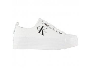 Dámské boty Calvin Klein Zolah Bílé