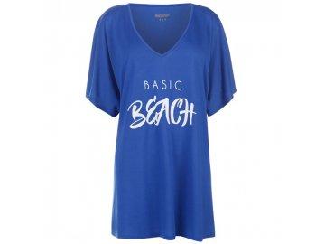 Dámské triko šaty Golddigga Slog Beac