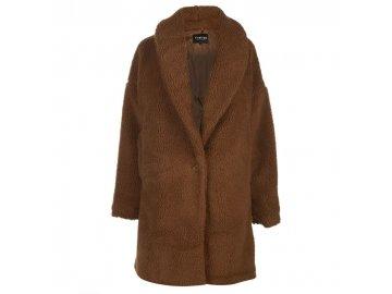 Dámský kabát Firetrap Teddy Hnědý