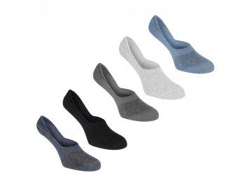 Pánské neviditelné ponožky Giorgio 5 v balení Multi