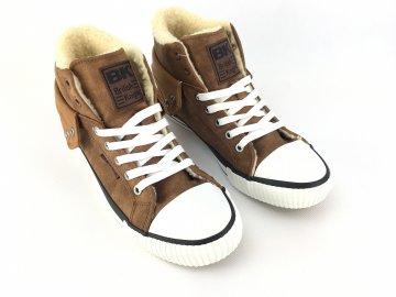 Pánské boty British Knights Fur Koňakové