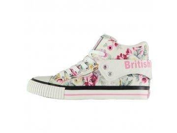 Dámské kotníkové boty British Knights Roco Fold Floral