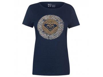 Dámské triko Roxy Spirit Modré