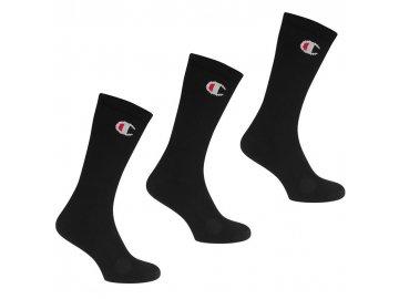 Ponožky Champion 3 ks Černé