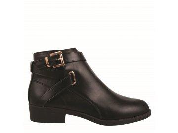 Dámské boty Miso Buck Černé/Zlaté