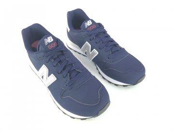 Dámské boty New Balance 500 Navy Silver