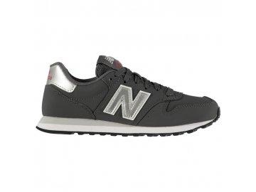 Dámské boty New Balance 500 Stříbrné