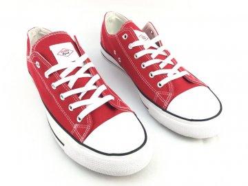Dámské boty Lee Cooper Canvas Červené
