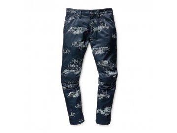Pánské kalhoty G Star Elwood X25 Toile De Jouy