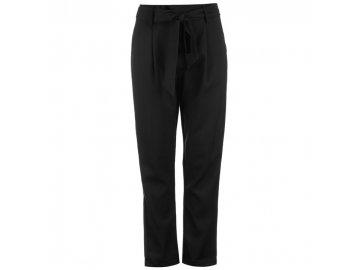 Dámské kalhoty Glamorous Tie Černé