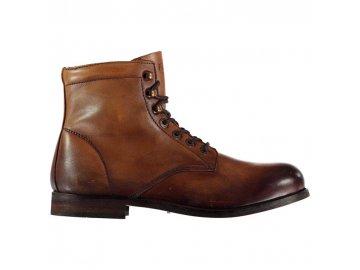 Pánské boty Firetrap Capone Hnědé