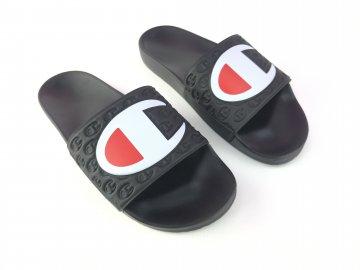 Pánské pantofle Champion Logo Černé
