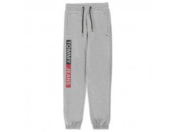 Pánské tepláky Tommy Hilfiger Jeans Essential Šedé