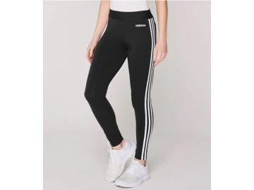Dámské tepláky legíny adidas Essential 3 Stripe Tights Černé