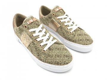 Dámské boty Guess Gamer Zlaté