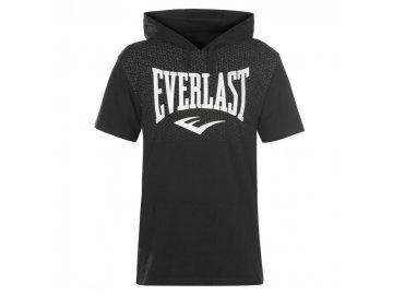 Pánské triko Everlast s kapucí Černé