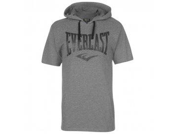 Pánské triko Everlast s kapucí Šedé