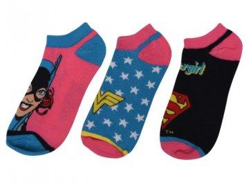 Dámské ponožky Dreamstock Original SL DC Comics