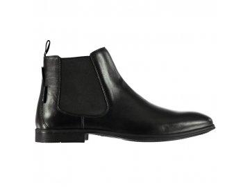 Pánské boty Ben Sherman Lombard Chelsea Černé