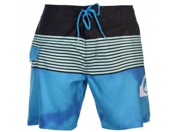 Pánské šortky Quiksilver Smocked Wave Modré