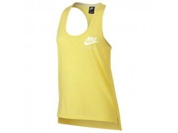 Dámské tílko Nike Vintage Tank Žluté