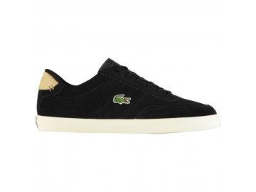 Pánské boty Lacoste Court Master Černé